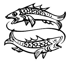 Balık burcu simgesi
